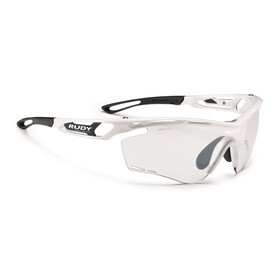 Rudy Project Tralyx Glasses White Gloss - ImpactX Photochromic 2 Black